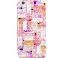 Elegant Pastel Pink, Orange, and Blue Watercolor iPhone Case/Skin