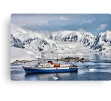 Argentinian Antarctic Station Canvas Print