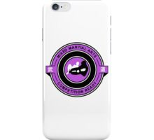 Mixed Martial Arts Competition Ready Kneebar Purple  iPhone Case/Skin