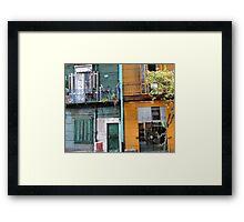 La Bocca Apartments Framed Print