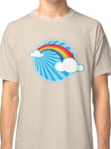Colourful Rainbow Classic T-Shirt