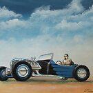 Blue T Roadster by Lee Twigger