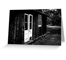 White Doors - Bellarine Peninsula Greeting Card