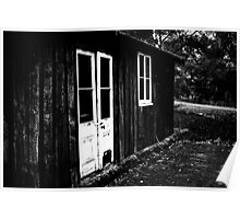 White Doors - Bellarine Peninsula Poster