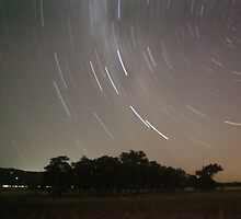 Serpentine Star Trails by Stephen Horton