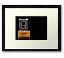 Box Camera Framed Print