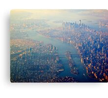 New York from the Air  (2012) Canvas Print