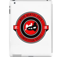 Mixed Martial Arts Competition Ready Kneebar Red  iPad Case/Skin