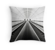 Downward Throw Pillow