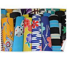 kimono color Poster