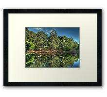 Reflections Of Marysville - Marysville, Victoria Australia - The HDR Experience Framed Print