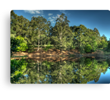 Reflections Of Marysville - Marysville, Victoria Australia - The HDR Experience Canvas Print