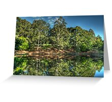Reflections Of Marysville - Marysville, Victoria Australia - The HDR Experience Greeting Card