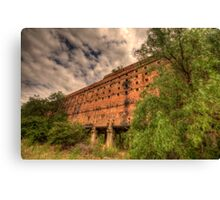 Man O War - Oil Shale Mine Ruins - Glen Davis - The Capertee Valley - The HDR Experience Canvas Print