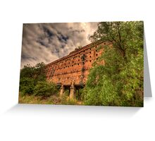 Man O War - Oil Shale Mine Ruins - Glen Davis - The Capertee Valley - The HDR Experience Greeting Card