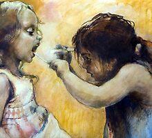 The nurse by Lorenzo Castello