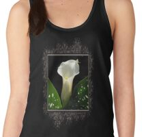Zantedeschia named Little Jimmy Women's Tank Top