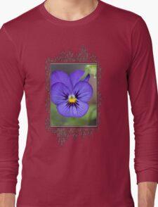 Viola named Sorbet Blue Heaven Jump-Up Long Sleeve T-Shirt