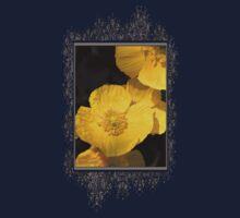 Yellow Iceland Poppy Baby Tee