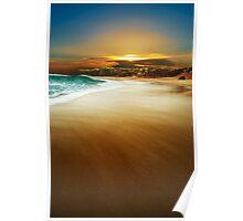Mystical Beach Poster