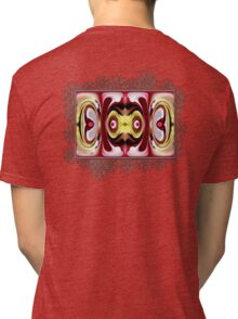 Horizon Abstract Tri-blend T-Shirt