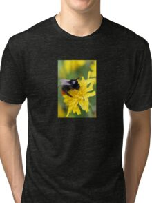 The red tailed bumble Tri-blend T-Shirt