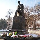Monument Great Russian writer Anton Chekhov in Taganrog - Chekhov's Motherland. by Vitta