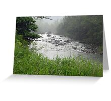Tully River Rapids 3 Greeting Card