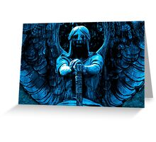 The Angel of Death Victorious Greeting Card