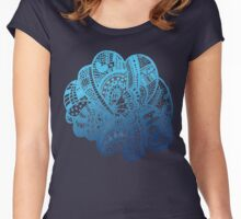 Hey Doodles Women's Fitted Scoop T-Shirt