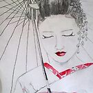geisha girl by Jazmine Saunders