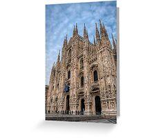 Il Duomo di Milano Greeting Card