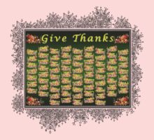 Give Thanks One Piece - Long Sleeve