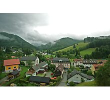 In the Valley - Austria Photographic Print