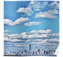 Skyline of the Big Apple. Poster
