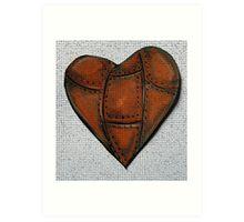 Robust Heart Art Print