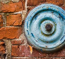 Turquoise Washer, Red Brick by Wulfrunnut