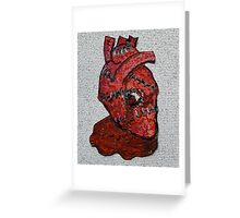 This Bloody Heart Of Mine Greeting Card