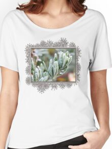 Frosty Lotus Berthelotii Women's Relaxed Fit T-Shirt