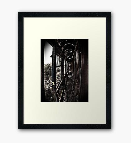 Carriage Carnage Framed Print
