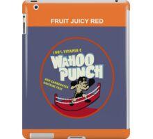 Wahoo Punch iPad Case/Skin