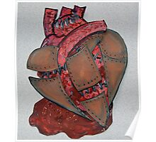 Armour Plated Heart Poster