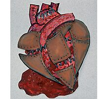 Armour Plated Heart Photographic Print