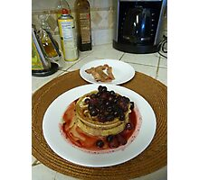 a Breakfast Favorite Photographic Print