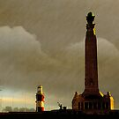Plymouth Hoe at Dawn, Devon, UK  by buttonpresser