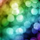 Rainbow Bokeh by Douglas M. Paine