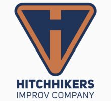 Hitchhikers Improv (Navy & Orange) Kids Tee