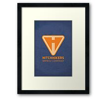 Hitchhikers Improv (Creamsicle) Framed Print