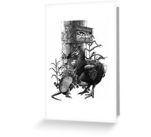 Time of Night I Greeting Card
