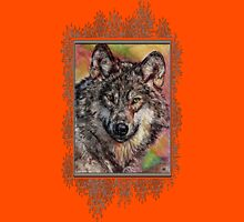 Portrait of a Gray Wolf Unisex T-Shirt